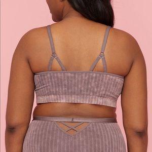 Lane Bryant Intimates & Sleepwear - Ribbed Strappy Seamless Bralette